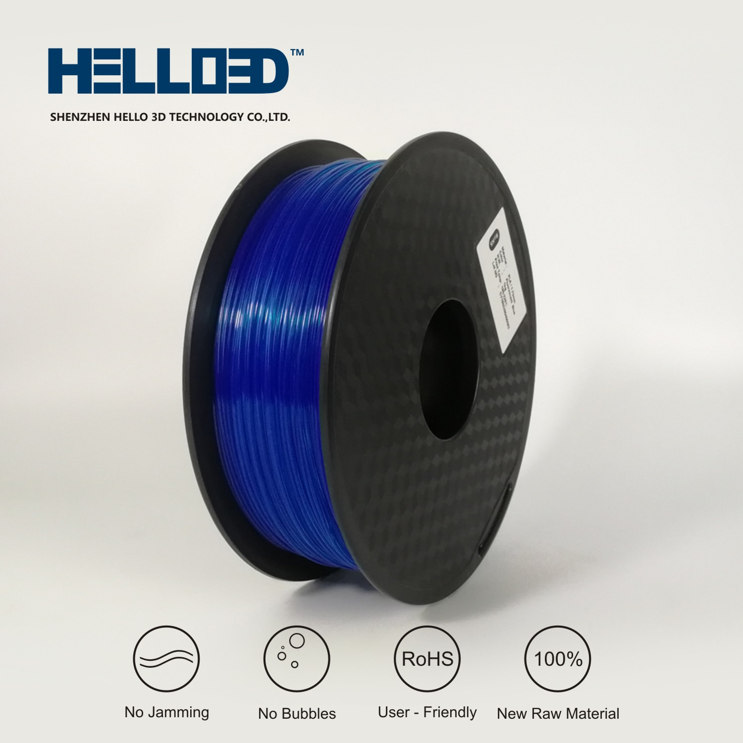 PLA Fluorescent Blue