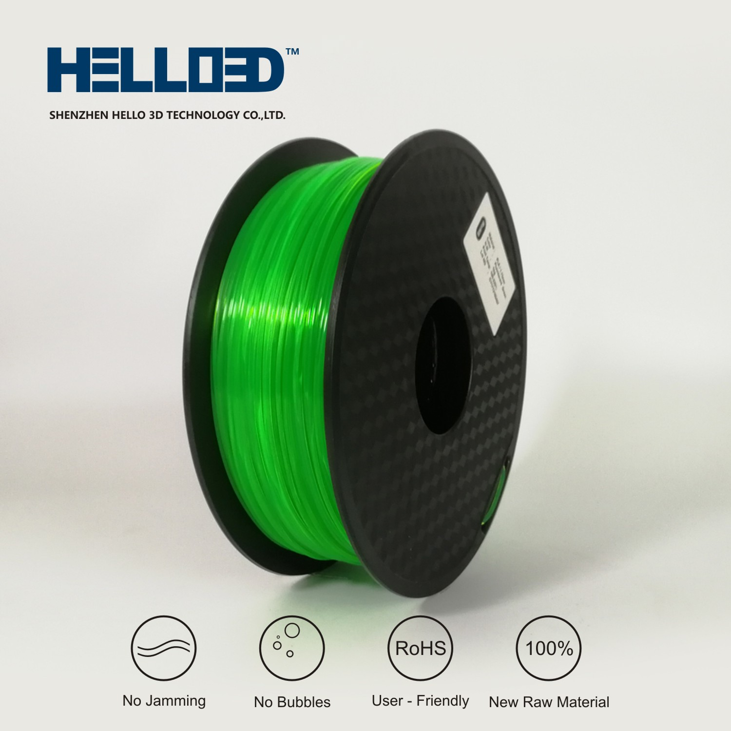 PLA Fluorescent Green