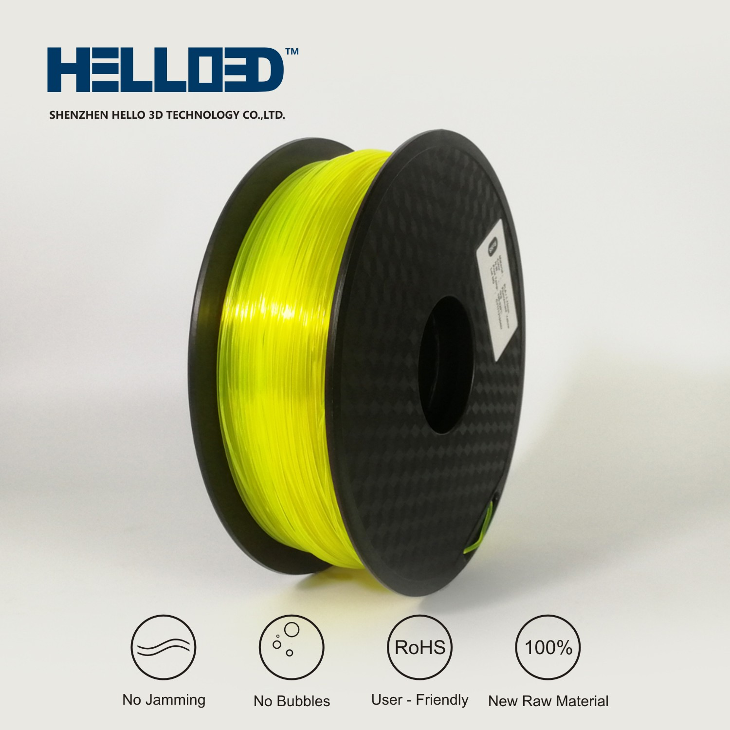 PLA Fluorescent Yellow