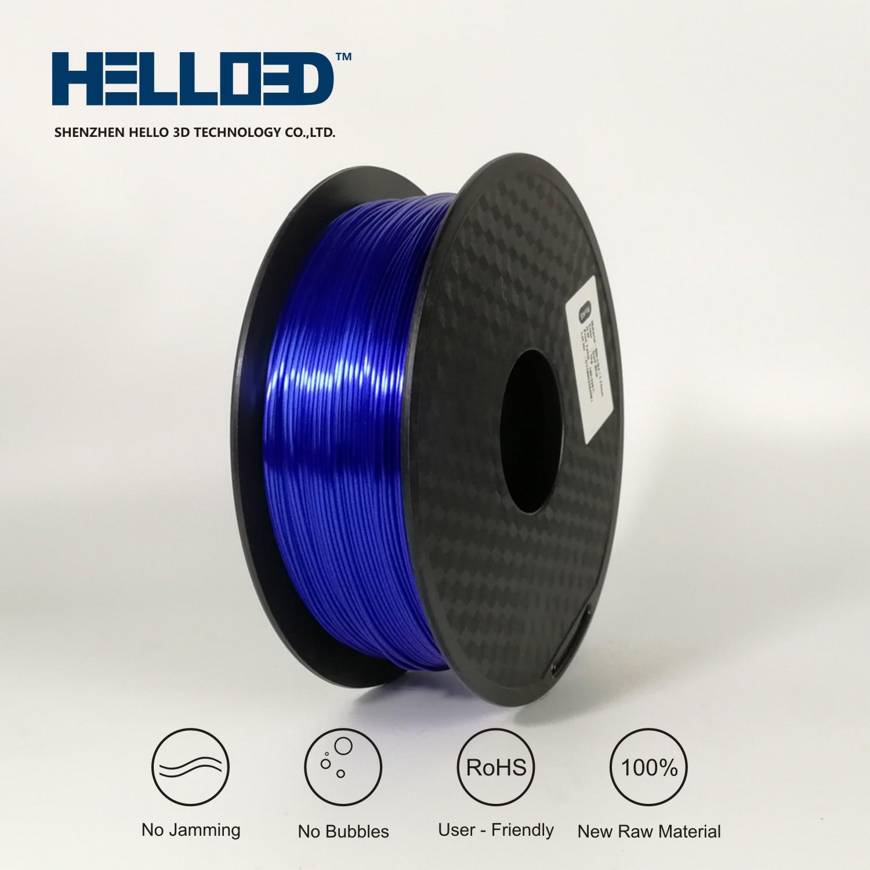 Silk like Dark Blue